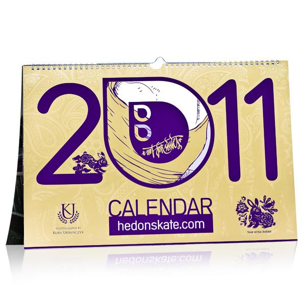 Hedonskate Calendar 2011
